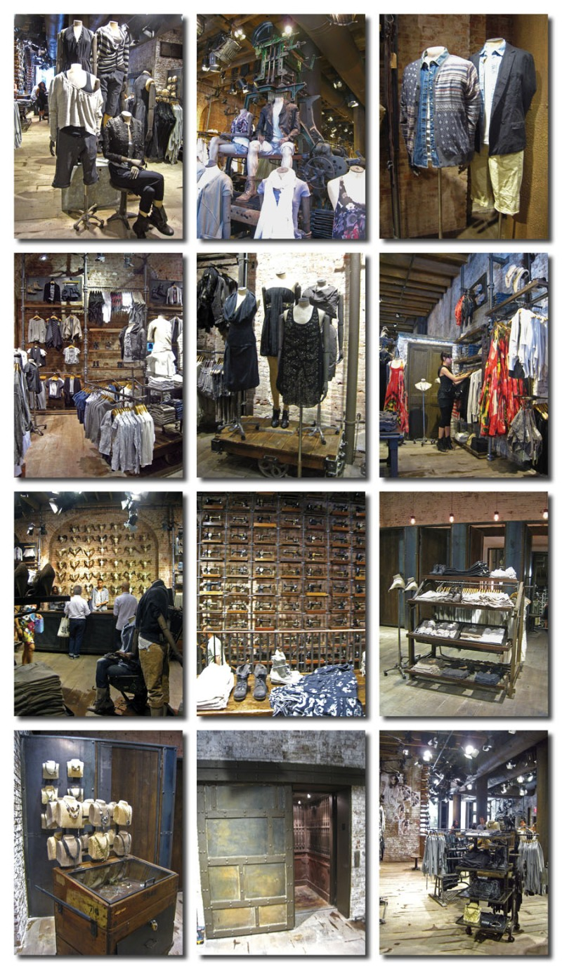All Saints Spitalfields, vintage fashion style