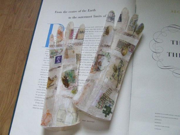 jennifer collier paper gloves