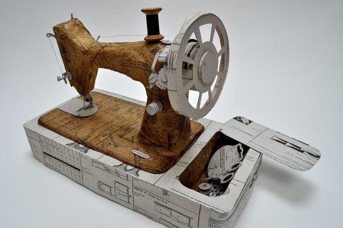 jennifer collier paper singer machine