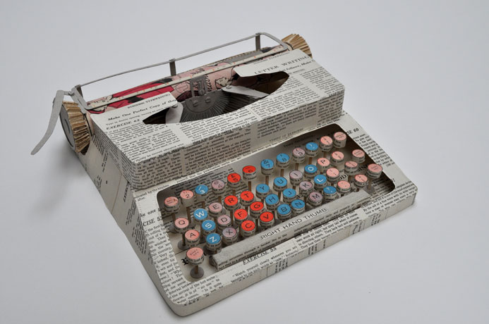 jennifer collier paper typewriter