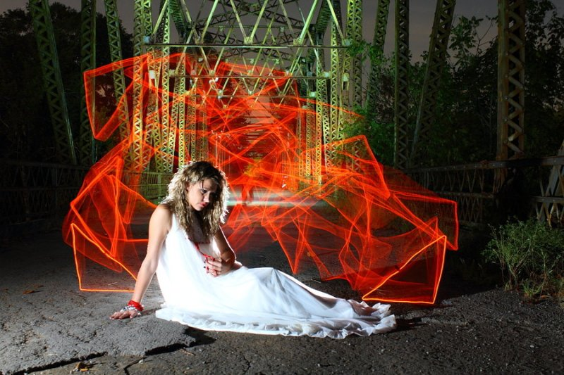 Light Painting by Dennis Calvert , awesome graphic design
