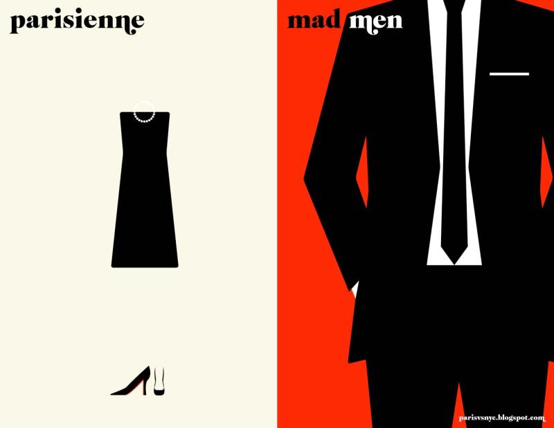 Paris vs New York a tally of two cities parisienne mad men