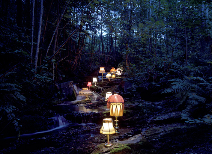 rune guneriussen lamps art installation and photography