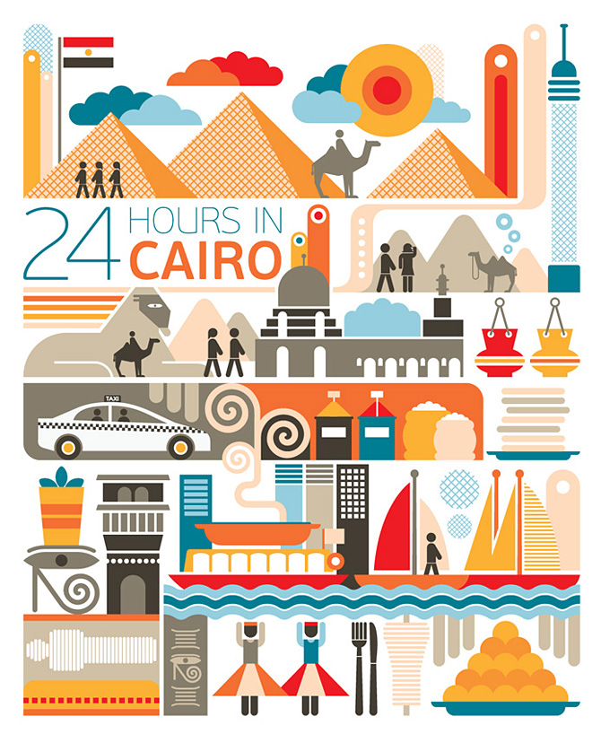 fernando volken togni  24 hours in cairo pyramids cafe nile
