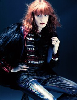 Florence welch by craig mc dean Interview chicquero