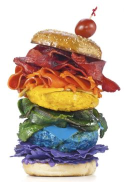 Food of the Rainbow photography by Henry Hargreaves chicquero