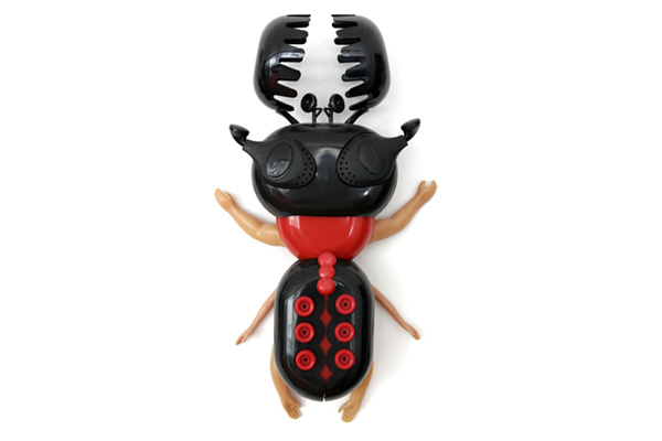 sang won art toys  i-black-red