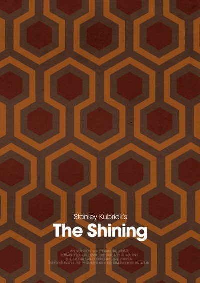 minimal movie poster  the shining