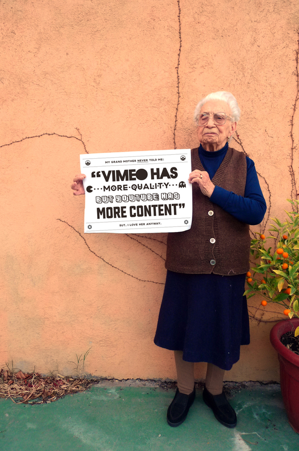 grandmother tips vimeo youtube