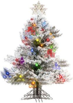 Keyson-Savage christmas Tree chicquero