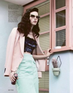 meghan collison vogue russia chicquero11