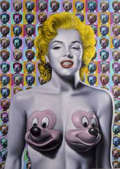 pop marilyn mickeysSM ron english chicquero