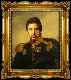 replace face portrait chicquero al pacino
