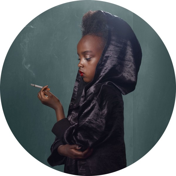 frieke janssens Smoking Kids photography