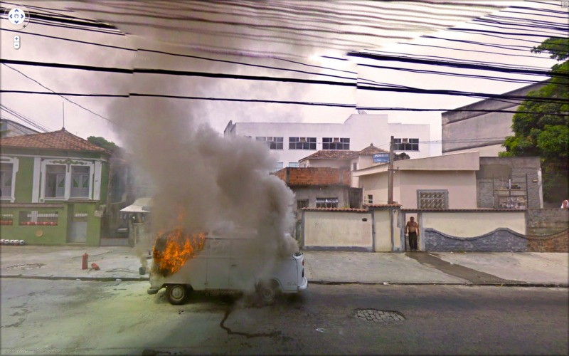 google street view chaos  pictures , street photography