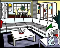 INTERIORS ROY LICHTENSTEIN chicquero