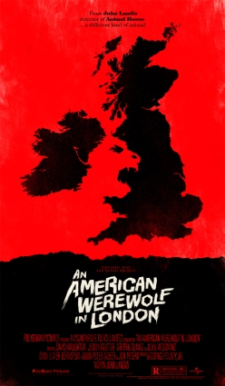 cool movie posters chicquero an american werewolf in london