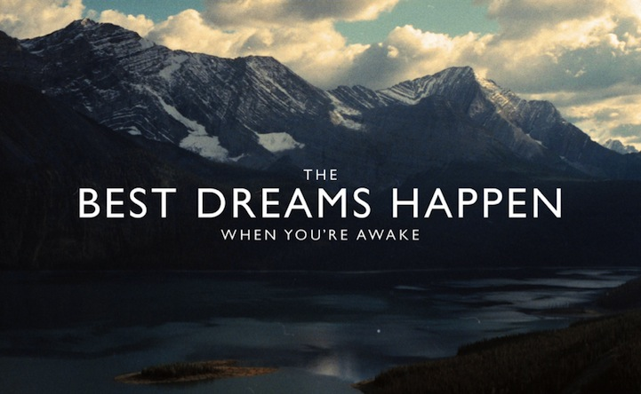 inpiring quote Julian Bialowas  the best dreams happen