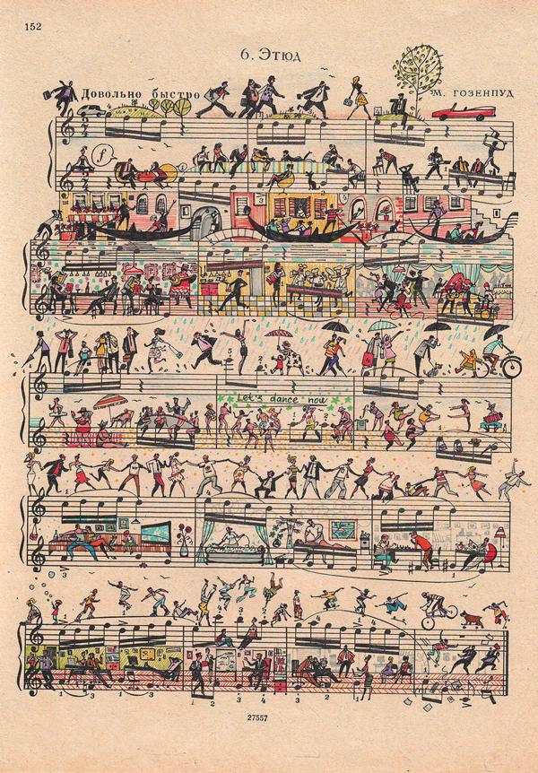Handwritten Music Sheet Music is a Handwritten
