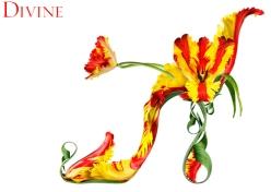 shoe fleur chicquero flower shoes