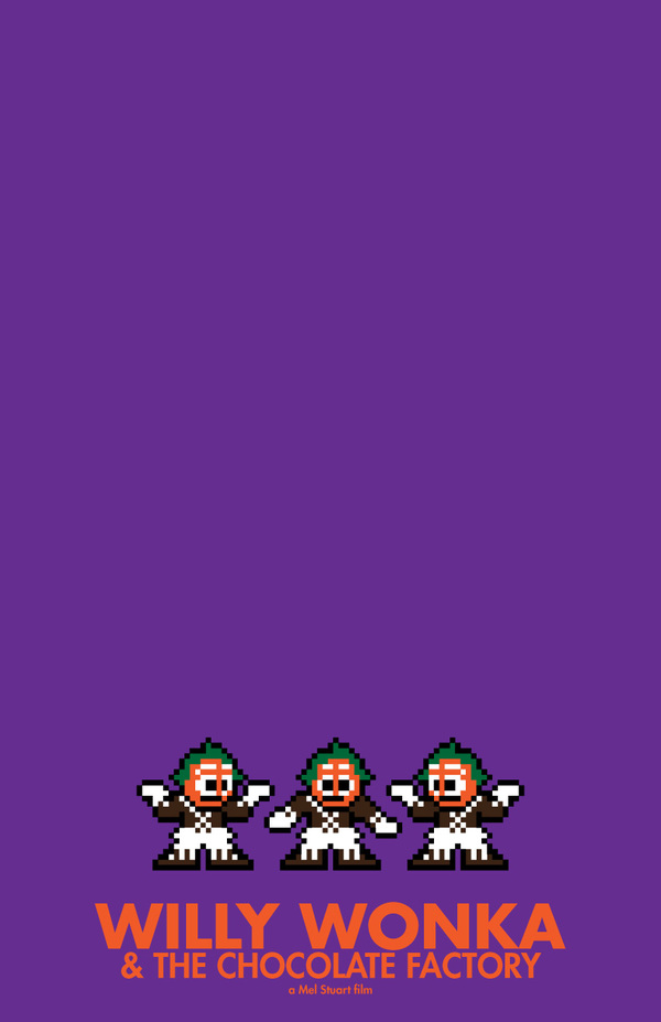 8 bit movie poster  the dark knight joker