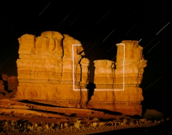 Topographic Projections Geometries chicquero  (Square) Notom, Utah