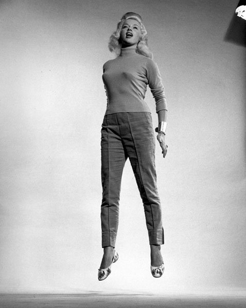 Jump 1959 by Philippe Halsman Diana-Dors-