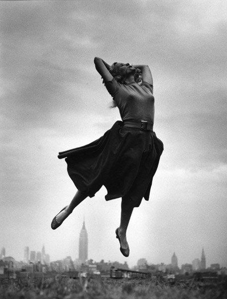 Jump 1959 by Philippe Halsman Eva-Marie-Saint