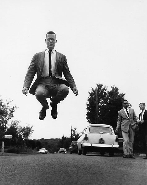 Jump 1959 by Philippe Halsman Murray-Kempton