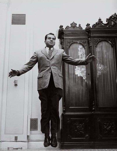 Jump 1959 by Philippe Halsman Nixon