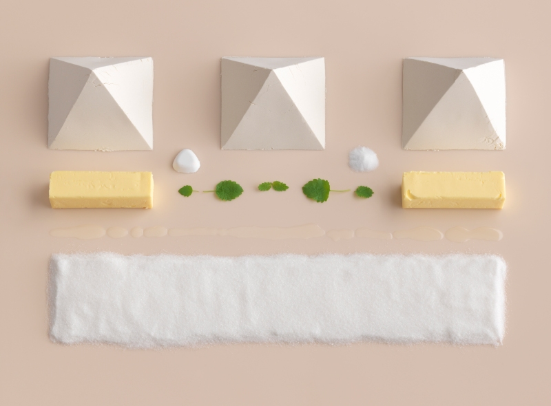Minimal food geometry , all sorts of food in their simplest