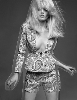Pop Fashion Abbey Lee Kershaw Greg Kadel chicquero