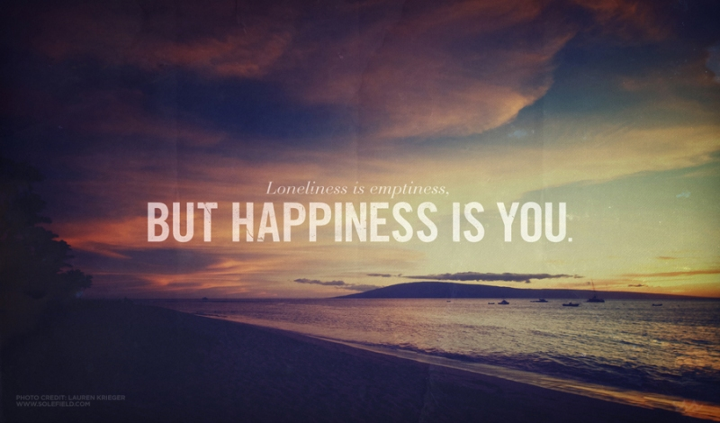 quotes quotation loneliness hapiness