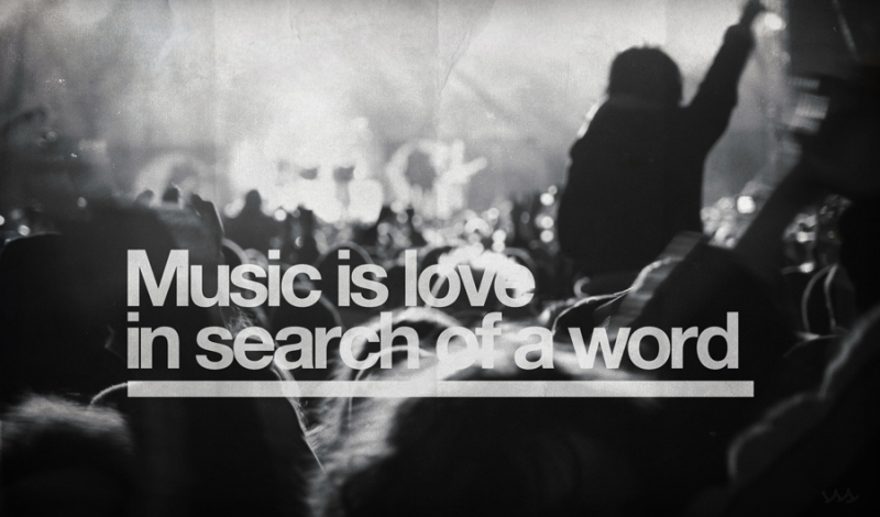 quotes quotation music is love