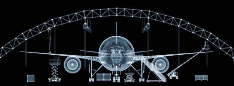 X-Ray photography Nick Veasey airplane