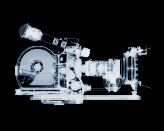 X-Ray photography Nick Veasey camera