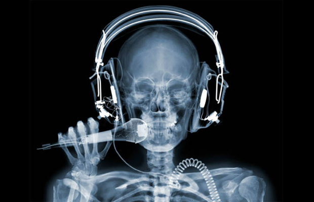X-Ray photography Nick Veasey singer
