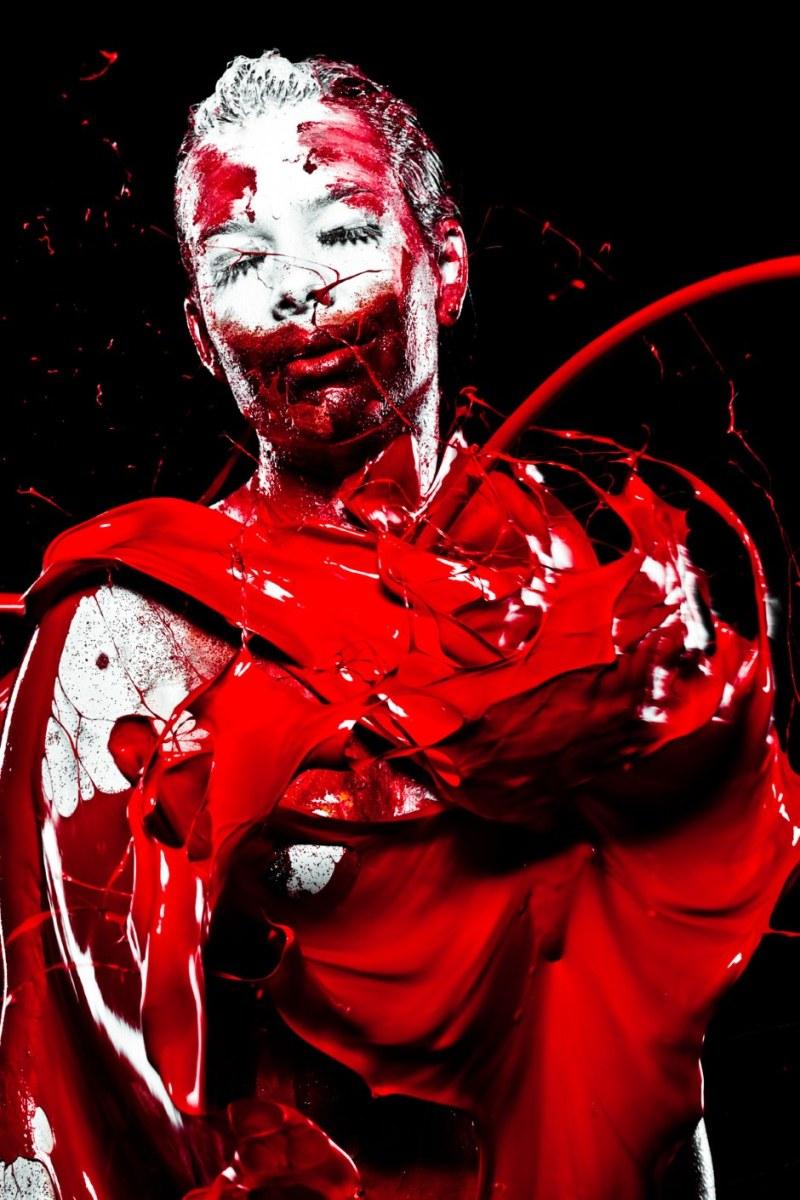 Colors Human body : illustration : Modern Art pics