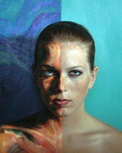 Alexa Meade - Living paintings - art chicquero - 0