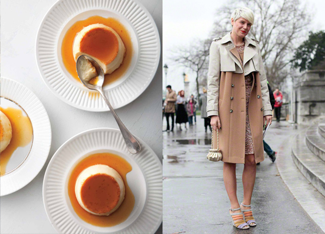 food and fashion style