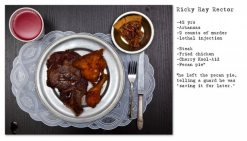 henry hargreaves photography - last meals on death row - chicquero blog 1