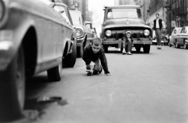 60s Skate , NYC Skateboard by Bill Eppridge