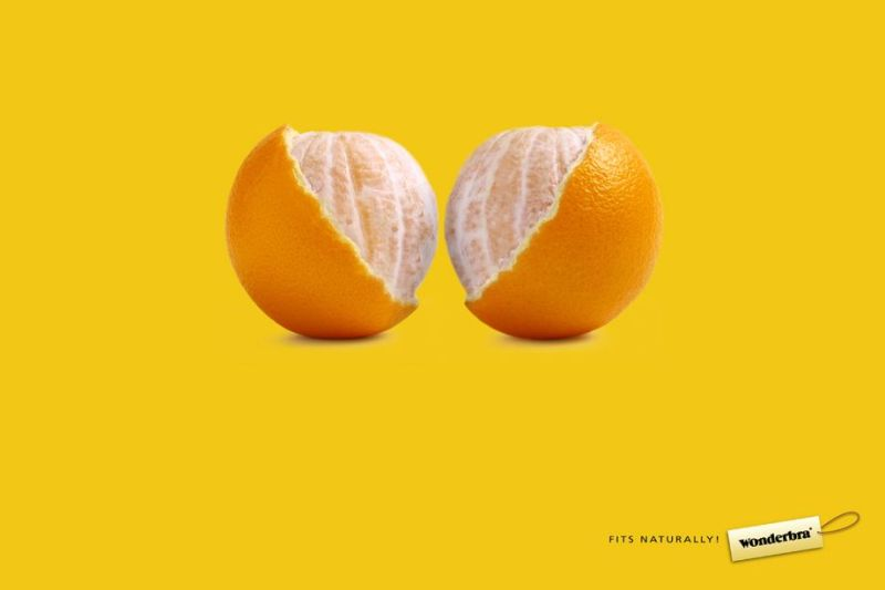 Advertisment marketing branding - wonderbra bra