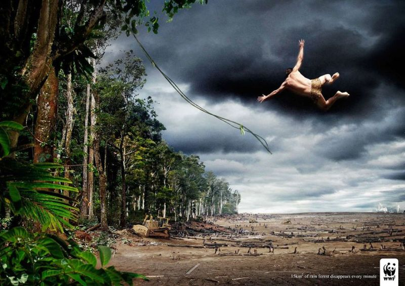 Advertisment marketing branding -  wwf