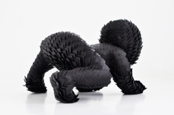 child sculptures by sabi van hemert - art chicquero - black