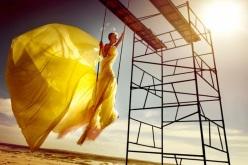 kristian schuller fashion moda photography - chicquero - yellow dress
