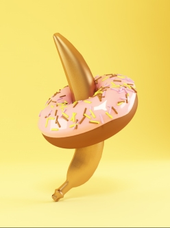 pablo alfieri sexual connotation photography - chicquero - banana donut