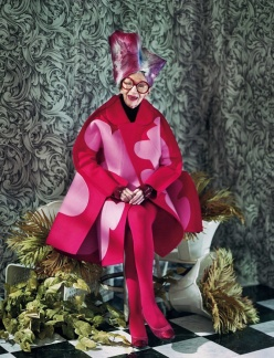 Iris Apfel Dazed and Confused - Advanced style - Chicquero Fashion -2