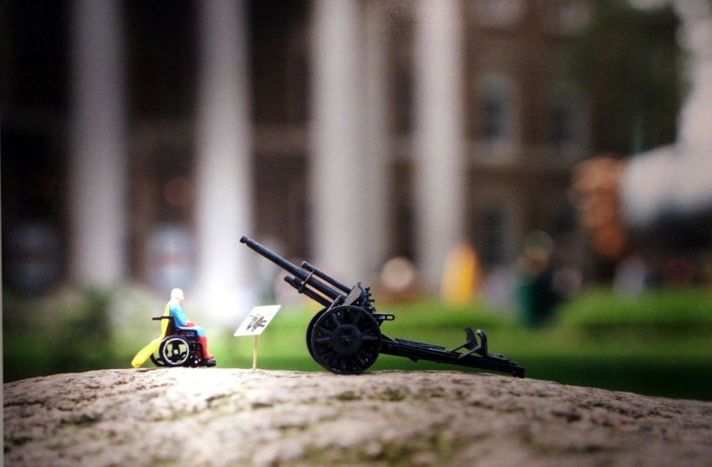 Little people project - cool miniature art - last my nemesis