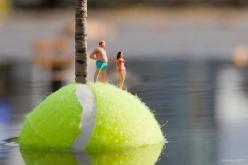 Little people project - cool miniature art - chicquero - last resort oasis 2